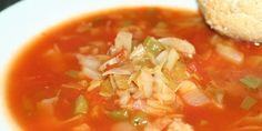 Opskrift på fedtfattig suppe