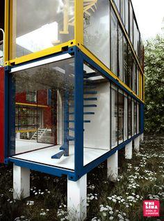 Mondo Cúbico Hostel on Behance