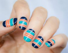 Nail tape designs that are seriously good. The first few are the best.
