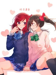 Chỉ là những bức ảnh yuri về các couple mình thích thôi #lãngmạn # Lãng Mạn # amreading # books # wattpad Anime Angel Girl, Anime Art Girl, Kawaii Cute, Kawaii Anime, Yuri Love, Manga, Shoujo Ai, Love Live School Idol Project, Maki Nishikino