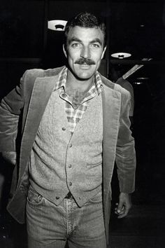 Who has the best mustache in Hollywood? See Tom Selleck's and more, here:
