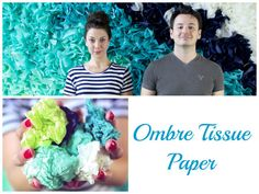 Create an insane mural with just tissue paper. | 32 Unbelievably Cheap And Beautiful DIY Photo Backdrops