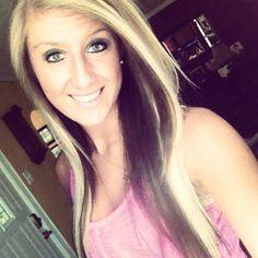 Blonde on top brown underneath