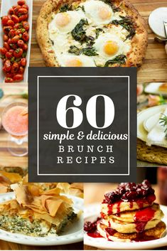 """Hosting a brunch just gets easier with """"The Brunch Table"""" eBook. Find 60 classic & Greek-inspired recipes, Menus and GamePlans for stress-free entertaining. Spinach And Feta, Spinach Pie, Brunch Table, Brunch Menu, Cabbage Rolls, Brunch Recipes, Breakfast Recipes, Brunch Ideas, Greek Recipes"""