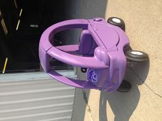 """Searched for """"K-State"""" and saw multiple pins of this. This is the coupe painted by my in-laws for their granddaughters. :)"""