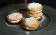 Pompoen Whoopies - Keukenatelier Whoopie Pies, Macarons, Hamburger, Bread, Brot, Macaroons, Baking, Burgers, Breads