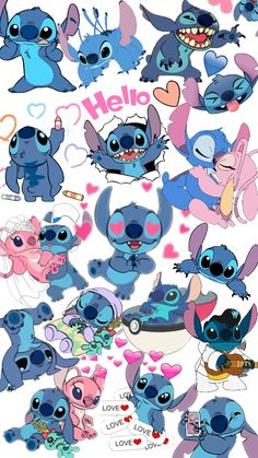 image by Leila Ferraro. Find more awesome stitch images on PicsArt. Disney Phone Wallpaper, Cartoon Wallpaper Iphone, Cute Cartoon Wallpapers, Lilo And Stitch Drawings, Lilo Et Stitch, Stitch Cartoon, Cute Patterns Wallpaper, Cute Wallpaper Backgrounds, Stitch Tumblr