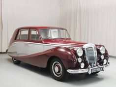 1953 Daimler Empress MKII Sedan Jaguar Daimler, Daimler Benz, Classic Trucks, Classic Cars, Posh Cars, Vintage Cars, Antique Cars, 1950s Car, Cars Uk