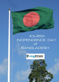 Independence Day greetings to the people of Bangladesh.