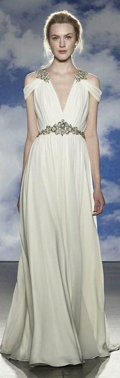 Jenny Packham Bridal Spring 2015 #provestra