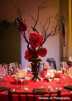 Wedding Florist - Table Tops, Etc. - Phoenix and Scottsdale, AZ