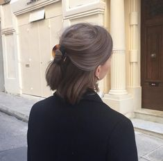 Do you need an elegant change for your hair? Excellent, because we've set the latest bun hairstyle trends of 2019 and there are really hairstyles and cuts Cute Hairstyles For Short Hair, Pretty Hairstyles, Curly Hair Styles, Hairstyles Haircuts, Braided Hairstyles, Cut My Hair, Hair Cuts, Hair Inspo, Hair Inspiration