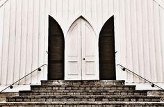 Bremo plantation, Virginia, slave chapel. Photographer O.T. Holen