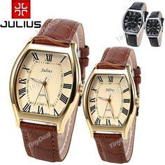 http://www.tinydeal.com/it/julius-lover-genuine-leather-band-quartz-watch-w-barrel-case-p-116674.html  (JULIUS) Lover's Genuine Leather Band Quartz Watch Wrist Analog Watch