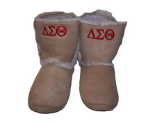 Delta Sigma Theta boots