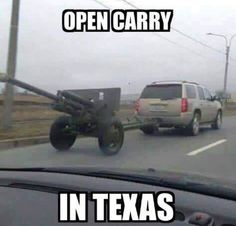 Make Texas Open Carry memes or upload your own images to make custom memes Memes Humor, Gun Humor, Gun Meme, Ford Memes, Funny Shit, Funny Jokes, Hilarious, Funny Gifs, Military Jokes
