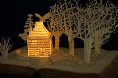 The Dovecote - a book sculpture
