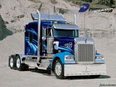 Cool Semi-Trucks | Fast Cool Semis Kenworth Semis