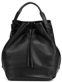 OPENING CEREMONY bucket backpack. #openingceremony #bags #leather #backpacks #