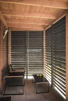 Garage Ideas, Terrazzo, Shutters, Blinds, Pergola, Curtains, Room, Furniture, Home Decor