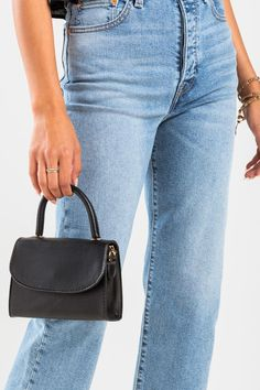 Jaycee Mini Satchel Mom Jeans, Satchel, Shoulder, Mini, Pants, Handbags, Black, Products, Fashion