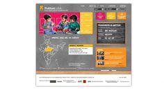 like the chalkboard idea...preschool website inspiration