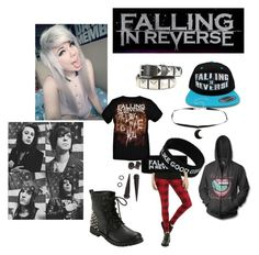 """Falling In Reverse"" by alexemoforever ❤ liked on Polyvore"