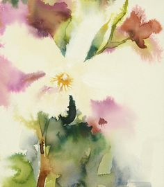 KO.91 ghost orchid by kate osborne £82.25 Watercolor Artists, Watercolor And Ink, Watercolor Flowers, Watercolor Paintings, Watercolors, Flower Paintings, Ghost Orchid, Lake Art, Winter Painting