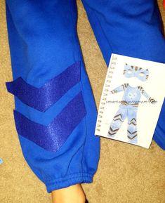 PJ masks catboy costume step by step