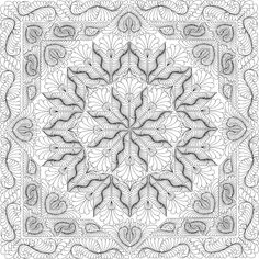 Woodcarver's Star Quilting Pattern