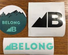 FREE Belong Stickers on http://www.icravefreebies.com/