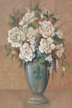 Cuadro Courtly Roses I