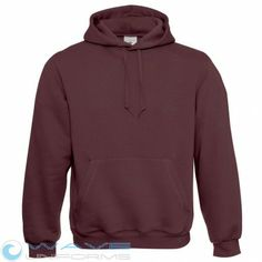 B&C Mens Hooded long sleeve Sweater