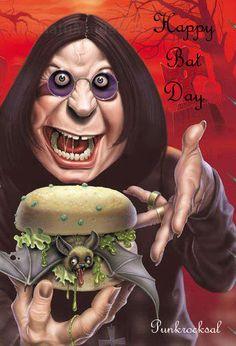 Happy Bat Day from #punkrocksal & Ozzy Osbourne - Halloween 2013