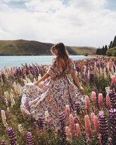 Lovebird maxi dress by Spell: