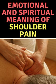 Neck and Shoulder Pain Spiritual Meaning and Healing - Emotional Fitness Lemon Benefits, Coconut Health Benefits, Heart Attack Symptoms, Stomach Ulcers, Spiritual Meaning, Neck Pain, Health Tips, Health Articles, Meant To Be