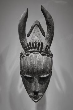 wood mask, Urhobo peoples, Nigeria, early to mid 20th century