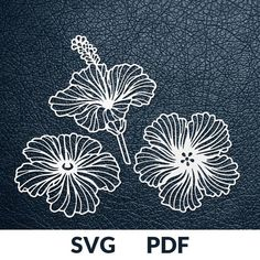 Papercutting Templates + Vinyl Stickers by DuperCut Paper Cutting Patterns, Paper Cutting Templates, Silhouette Cameo, Paper Art, Paper Crafts, Flower Template, Kirigami, Painting & Drawing, Stencils