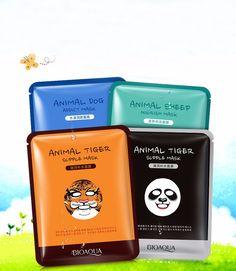1.09$ (Buy here: http://alipromo.com/redirect/product/olggsvsyvirrjo72hvdqvl2ak2td7iz7/32696611082/en ) BIOAQUA Skin Care Sheep/Panda/Dog/Tiger Four Types Optional Facial Mask Moisturizing Oil Control Cute Animal Face Masks for just 1.09$