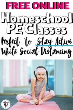 Homeschool PE Ideas - - While trapped at home homeschooling the kids learn how to stay active! These are the best exercise videos for kids to enjoy while social distancing. Cardio Yoga, Barre Workout, Pilates, Kids Workout, Physical Education Activities, Pe Activities, Exercise Activities, Health Education, Dementia Activities