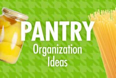 Pantry organization is important. See these smart ideas and tips to help you get your pantry decluttered and organized. Pantry Organization, Organizing, Organising Ideas, Organized Kitchen, Car Cleaning Hacks, Ocd, Getting Organized, Food Storage, Declutter