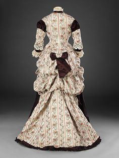 Late 1870s Overdress