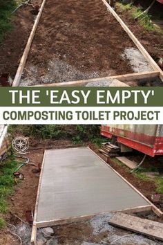 The 'Easy Empty' Composting Toilet Project — If you're living off the grid or are looking into building your own homestead, sewage management is a big issue. Some people have septic tanks and these work fine, but need maintenance from time to time and you still lose a lot of valuable water. #homestead #homesteading #prepping #preparedness #prepper #survival #shtf
