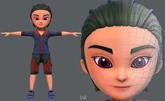 Base BoyV04 Clothing V01 | 3D model Impression 3d, 3d Character, 3d Animation, 3d Printing, Disney Characters, Fictional Characters, Base, Disney Princess, Clothing