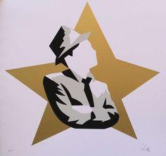 LODOLA MARCO - FRANK SINATRA - Serigrafia a colori - FORMATO FOGLIO - 70 X 70 cm