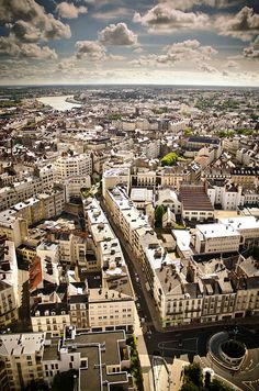 Nantes, France (by Gloss Control) - Sister City to Seattle and a must visit to Brittany. Nantes France, Paris France, The Places Youll Go, Places To Visit, Valencia, European City Breaks, Saint Nazaire, Loire Valley, Sister Cities