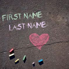 Get your name in beautiful style on Chalk Writing picture. You can write your name on beautiful collection of Objects pics. Personalize your name in a simple fast way. You will really enjoy it.