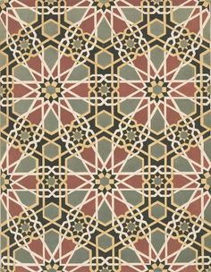 The Textile Blog: Islamic Geometric Mosaics