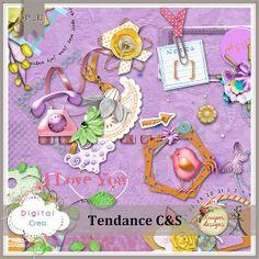 Tendance C&S by Xuxper Designs xuxper_tendancecs_kit [xuxper_tendancecs_kit] - $5.64 : Digital-Crea.fr, La boutique du Scrapbooking Digital