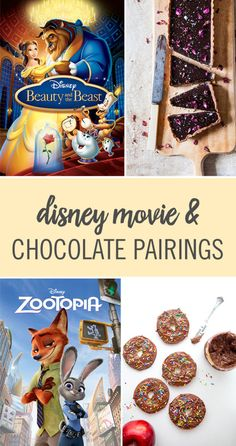 It's not a family movie night without snacks, and everyone loves chocolate! Whether you planned a Disney movie marathon or your little one runs up to you, begging to watch Frozen, there's a chocolate recipe to fit your movie need. Enjoy some chocolate hunny pots with 'Winnie the Pooh' or chocolate-filled beignets with 'The Princess and the Frog.' Click to see the Disney movie recipes.